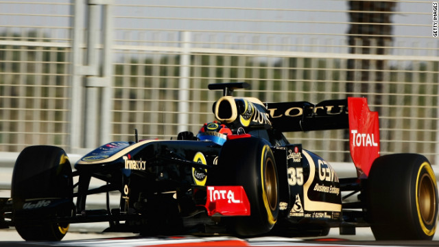 Estonia's Kevin Korjus tried out for Renault at the 2011 young drivers test, where the reactive ride-height systems were used.