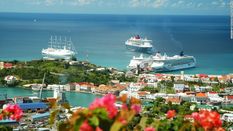 Grenada is popular for lovers of boats, big and small.