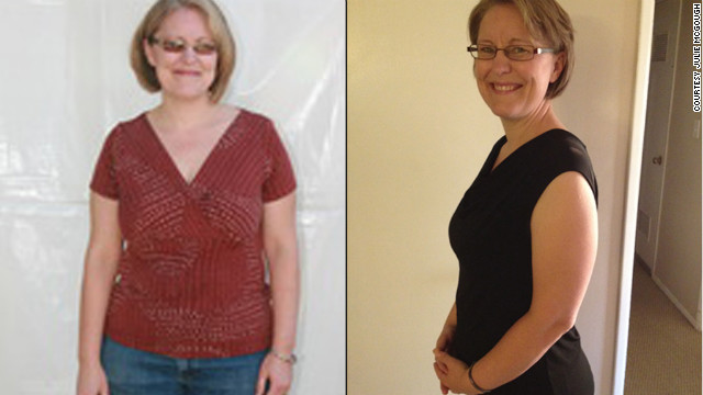 Julie McGough said her family has become healthier by going on the Daniel Plan.