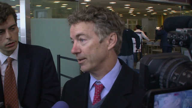 Sen. Paul: I had nothing to hide