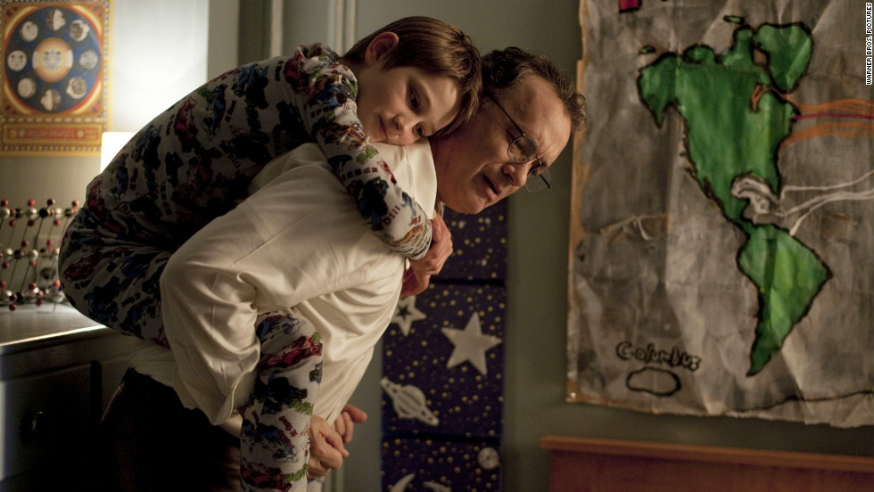 """Stephen Daldry's """"Extremely Loud and Incredibly Close"""" stars Thomas Horn as a 9-year-old searching for answers after his father -- played by Tom Hanks -- died on September 11, 2001. Sandra Bullock also stars."""