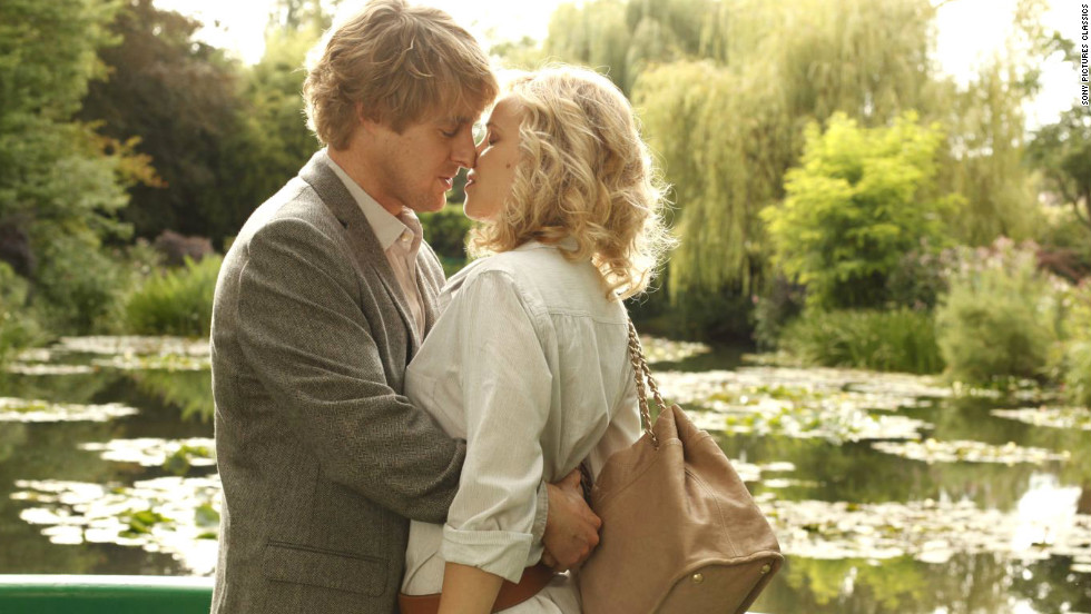 """Woody Allen's """"Midnight in Paris"""" stars Owen Wilson and Rachel McAdams as an engaged couple whose relationship is tested in the romantic City of Light."""