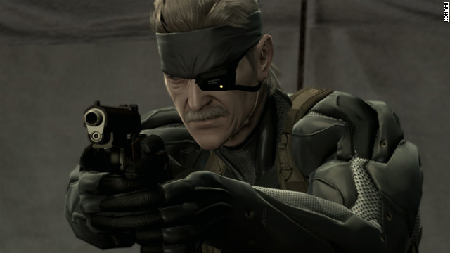 """Metal Gear"" protagonist Solid Snake will be replaced in the new game by a swordsman named Raiden."
