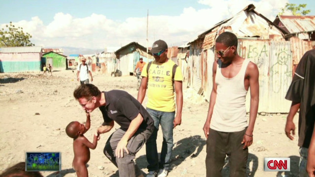 Sean Penn talks about his work in Haiti
