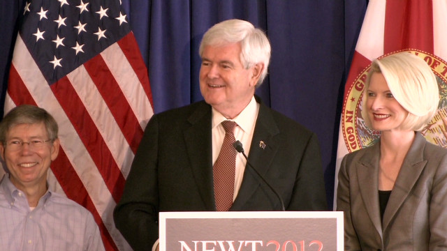 Gingrich mocks Romney debate coach