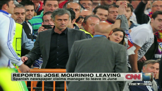 Is Jose Mourinho leaving Real Madrid?
