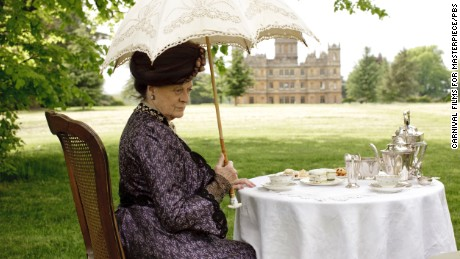 """Dame Maggie Smith played Violet, Dowager Countess of Grantham, on """"Downton Abbey."""""""