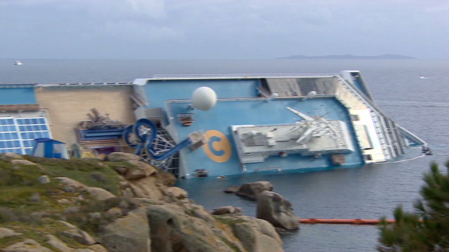 Costa Concordia salvage begins