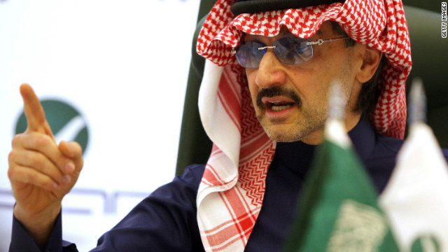 In an interview with CNN, Prince Alwaleed Bin Talal comments on if foreign investors will still be welcomed in Saudi Arabia