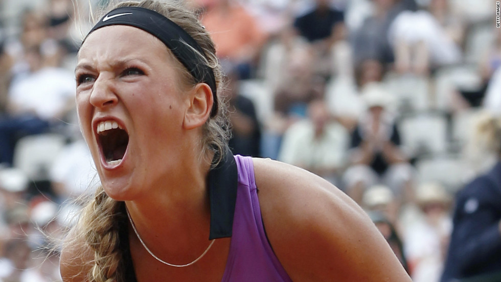 Third seed Victoria Azarenka was the subject of taunts from fans at the Australian Open who began to mimic her unique screams during a second round win over home-crowd favorite Casey Dellacqua.