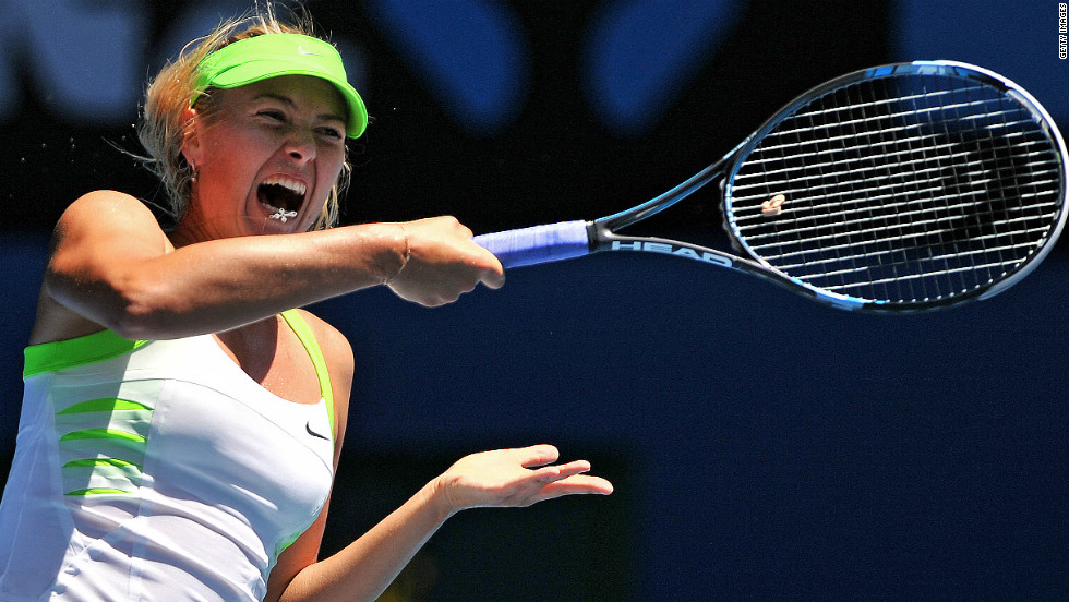 World No. 4 Maria Sharapova has long been known for her on-court shrieks and the Russian has recently attracted criticism as a result. The three-time grand slam champion claimed she will continue to make the noises until they are outlawed.