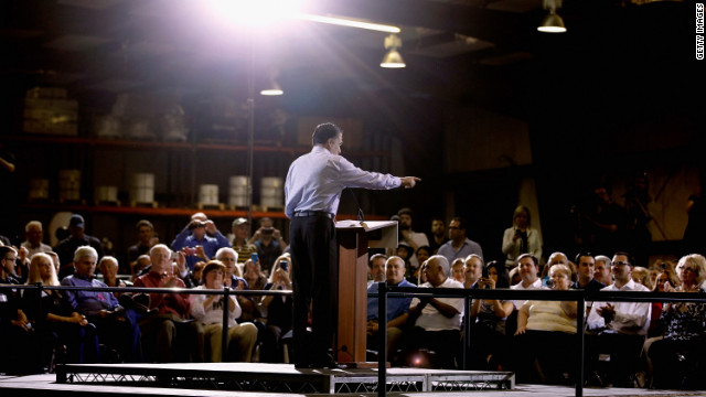 Mitt Romney delivers a rebuttal to President Barack Obama's State of the Union address Wednesday in Orlando.