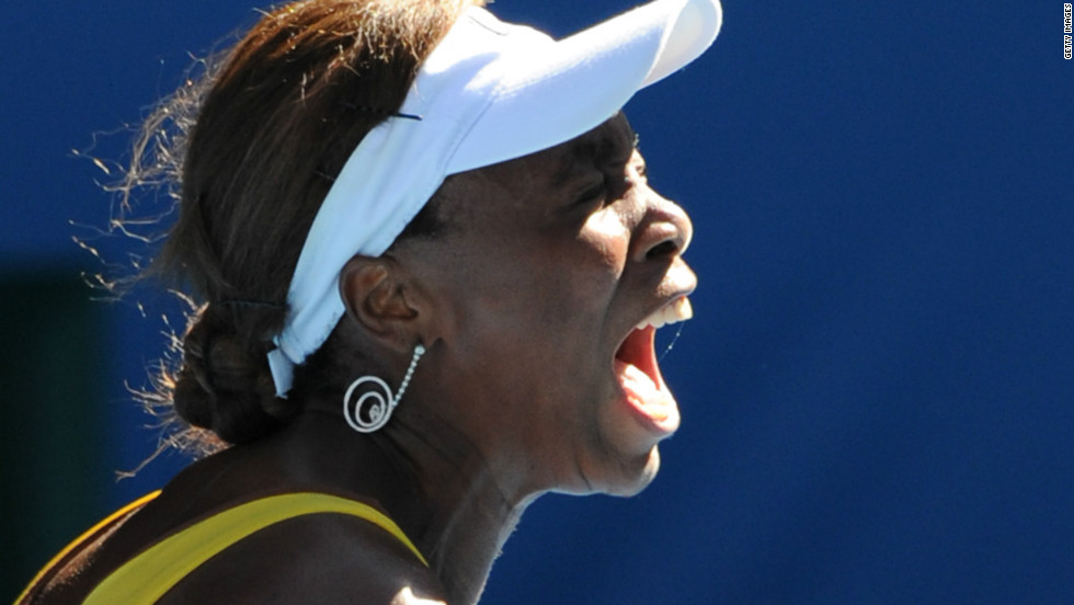 It would appear that grunting runs in the family, with Venus Williams matching her sister Serena in terms of noise and top-level success. Venus, one year older than her sibling, has collected seven major titles.