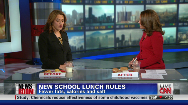 USDA updates school lunch guidelines