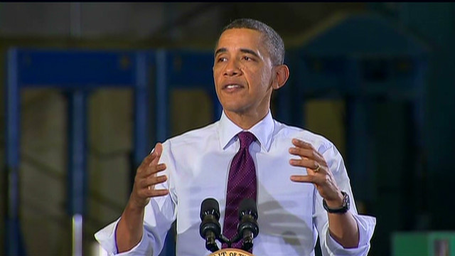 Obama goes after outsourcing
