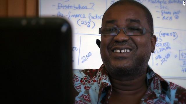 Ghanaian innovator Herman Chinery-Hesse.