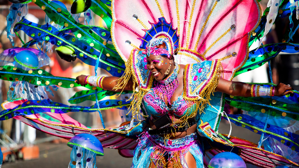 Grenada's Carnival is one of the island's biggest annual festivals attracting visitors from around the world.