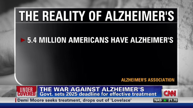 The national plan to fight Alzheimer's