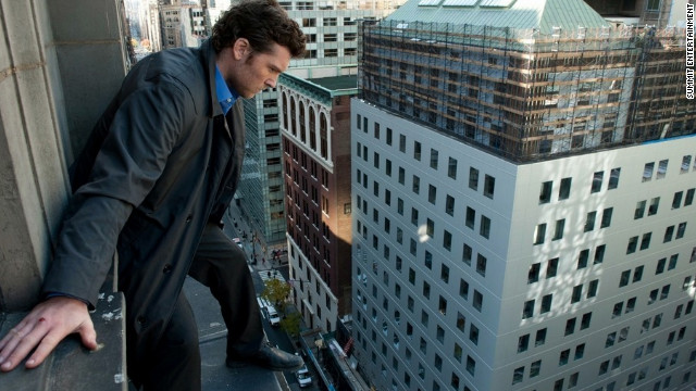 "Sam Worthington stars in ""Man on a Ledge."""