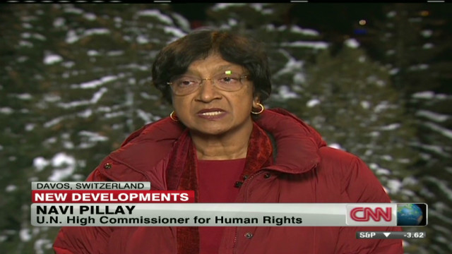 Pillay: Tracking Syrian deaths diffiicult