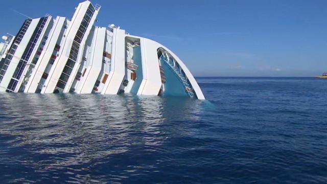 Concordia captain admits 'mistake'