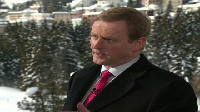 Irish PM defends Davos comments