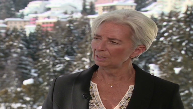 Lagarde:  World interest to solve crisis