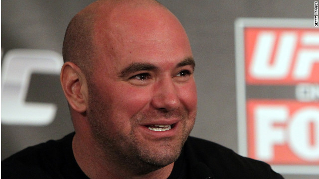UFC president Dana White had a heated Twitter exchange with Anonymous shortly before his personal information was hacked.
