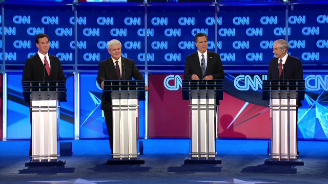 GOP candidates debate in Florida