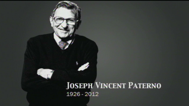 Penn State pays tribute to Paterno