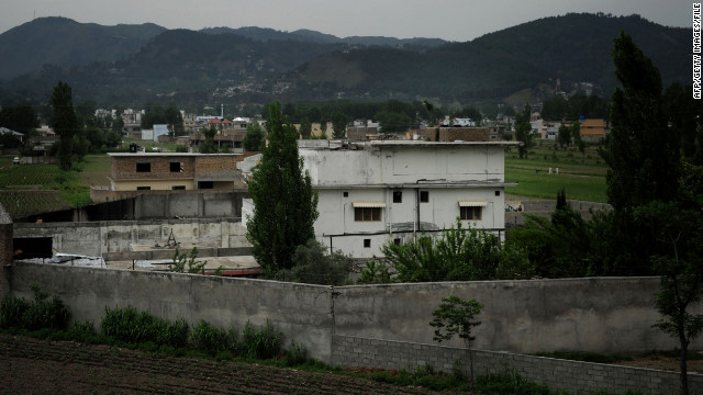 Osama Bin Laden used this site as a hideout until he was killed in a raid by U.S. forces in May 2011.