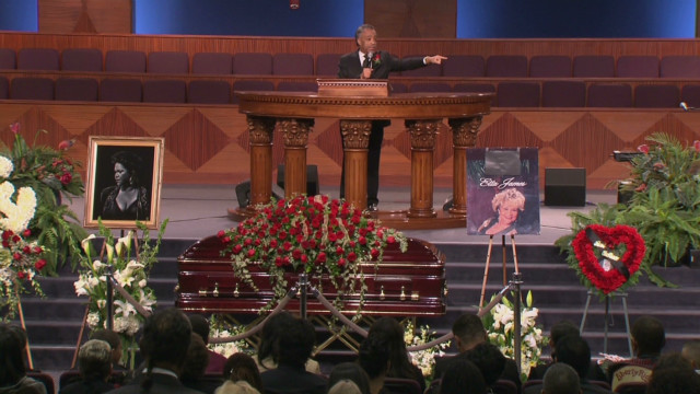 Etta James remembered at funeral