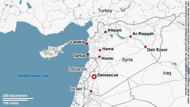 U.S. officials: Israel airstrike on Syria