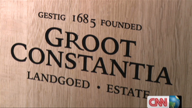 Birthplace of South African wine