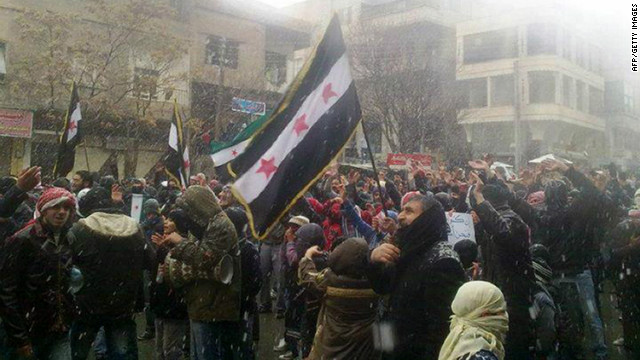 Deadly cat and mouse game in Syria