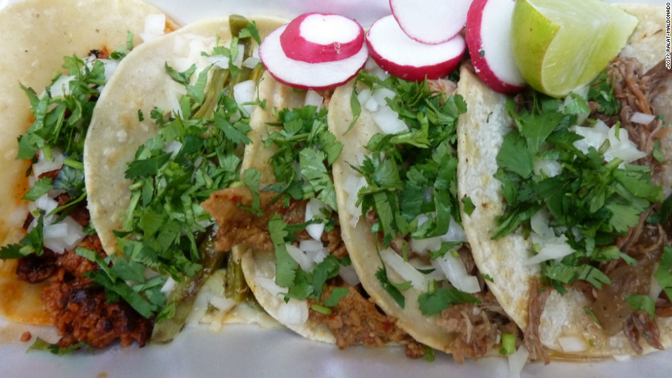 Known as Vitamin T, tacos, tortas, tamales and tostadas are part of  everyday life. Mexico's streets offer endless options for fast and delicious meals cooked with super-fresh ingredients.