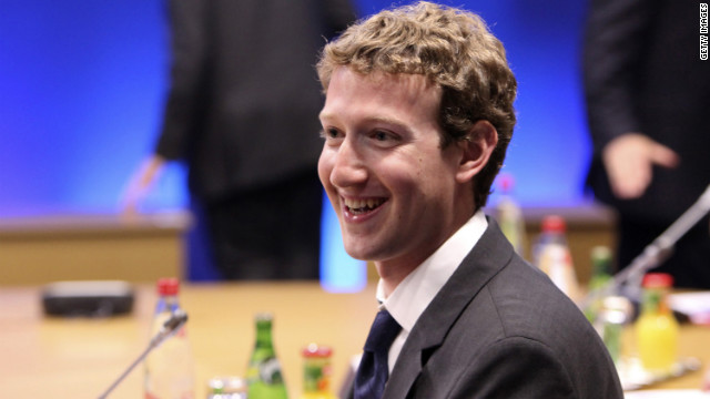 Facebook CEO Mark Zuckerberg, along with wife Priscilla Chan, donated almost $500 million to a charitable foundation in 2012.