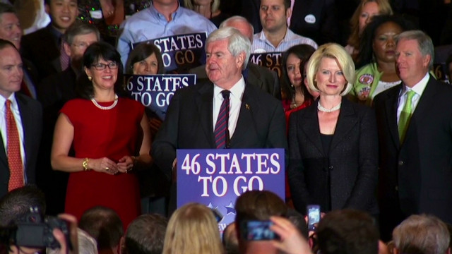 Gingrich: This is a two person race