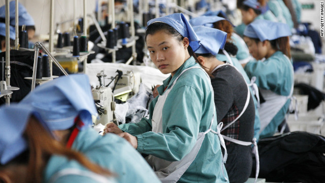 China's GDP growth slides