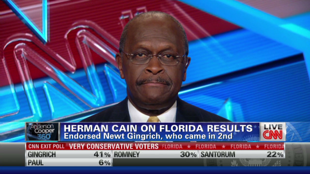 Cain: GOP race is a long way from over