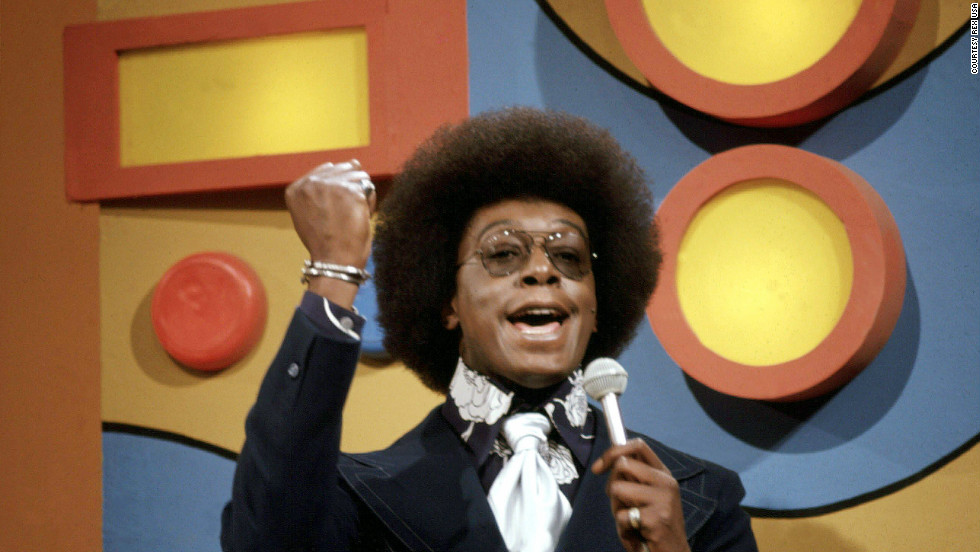"""Soul Train"" creator Don Cornelius, shown here on the set of the show in the '70s, died from a gunshot wound on Wednesday. He was 75. He was known for the catch phrase, ""And as always in parting, we wish you love, peace and soul."" Here's a look at Cornelius through the years."