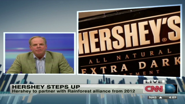 Hershey's cocoa farming pledge