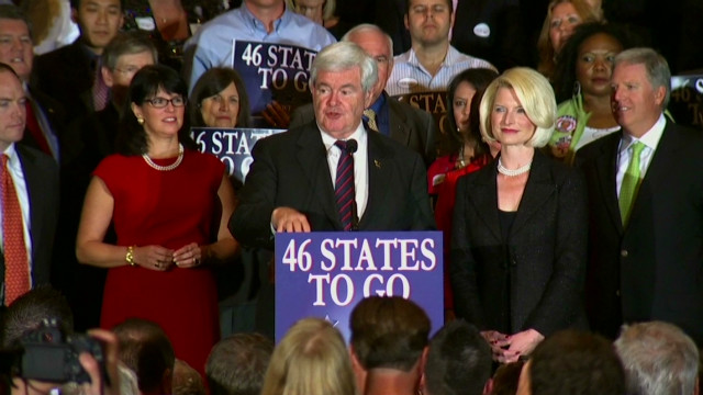 Gingrich and Romney go after Obama