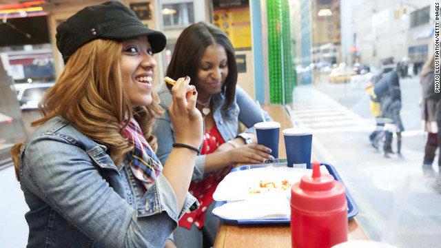 Some people eat to create a good impression or to make another person feel comfortable.