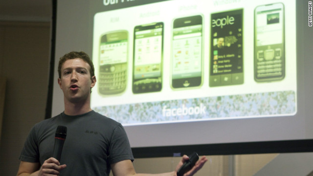 Facebook CEO Mark Zuckerberg wants his apps to be on all phones, but they don't make money yet.