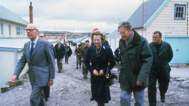 Argentina remembers the 'Iron Lady'