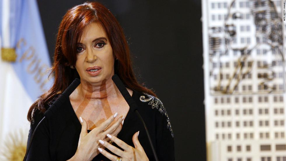 Argentinian President Cristina Fernandez de Kirchner has asserted her country's sovereignty of <em>Las Malvinas.</em>