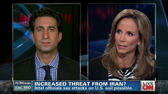 Increased threat from Iran?