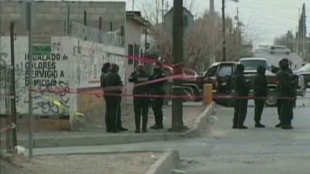 Police targeted in Juarez