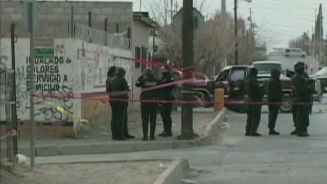 Police targeted in Juarez
